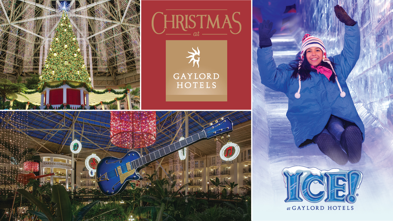 Experience A Country Christmas at Gaylord Opryland Resort - ICE! featuring A Charlie Brown Christmas
