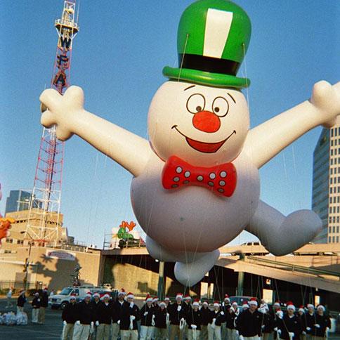 balloon-snowman