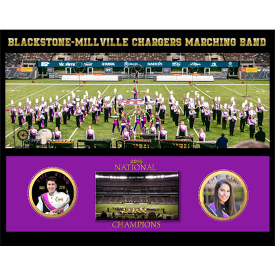 Blackstone-Millville Chargers Marching Band