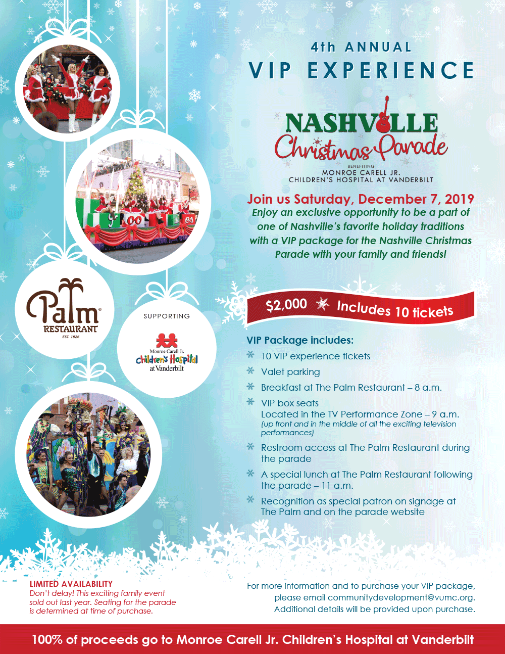 Nashville Christmas 2020 Parade Tickets – Nashville Christmas Parade